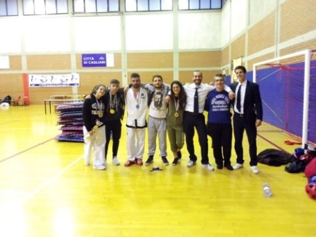 Campionato Sardo Taekwon-Do ITF, pioggia di medaglie per i giovani sangavinesi