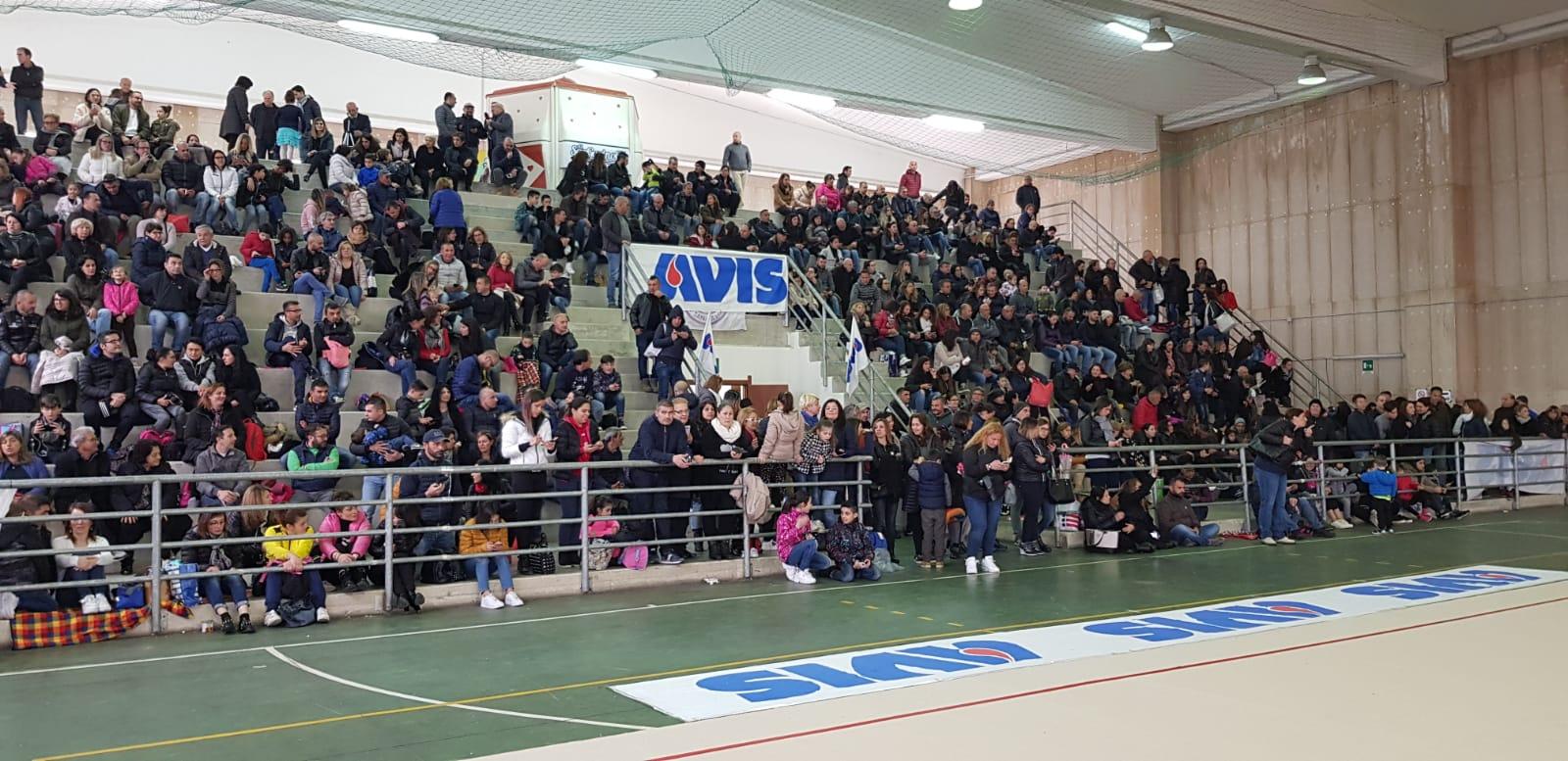 1° Trofeo AVIS, le foto del Campionato Provinciale di Ginnastica Ritmica