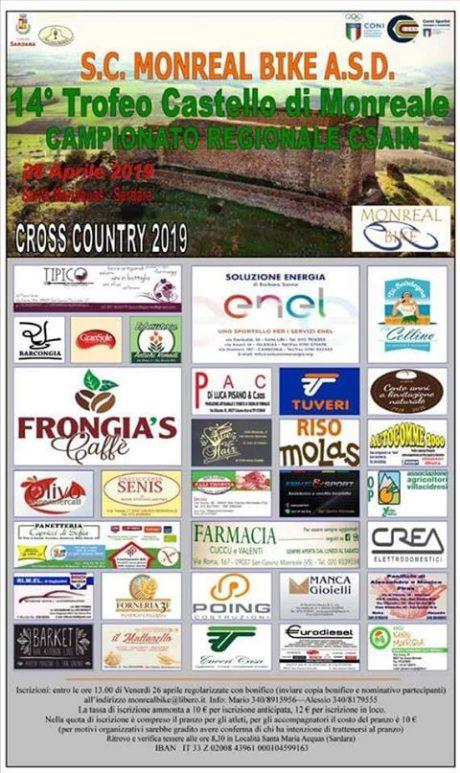"""28 aprile, arriva il 14° Trofeo """"Castello di Monreale"""""""