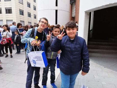 I nostri ragazzi in Finale ai Campionati Internazionali di Giochi Matematici 2019