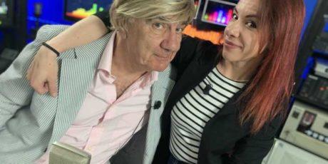Gene Gnocchi con la figlia Silvia