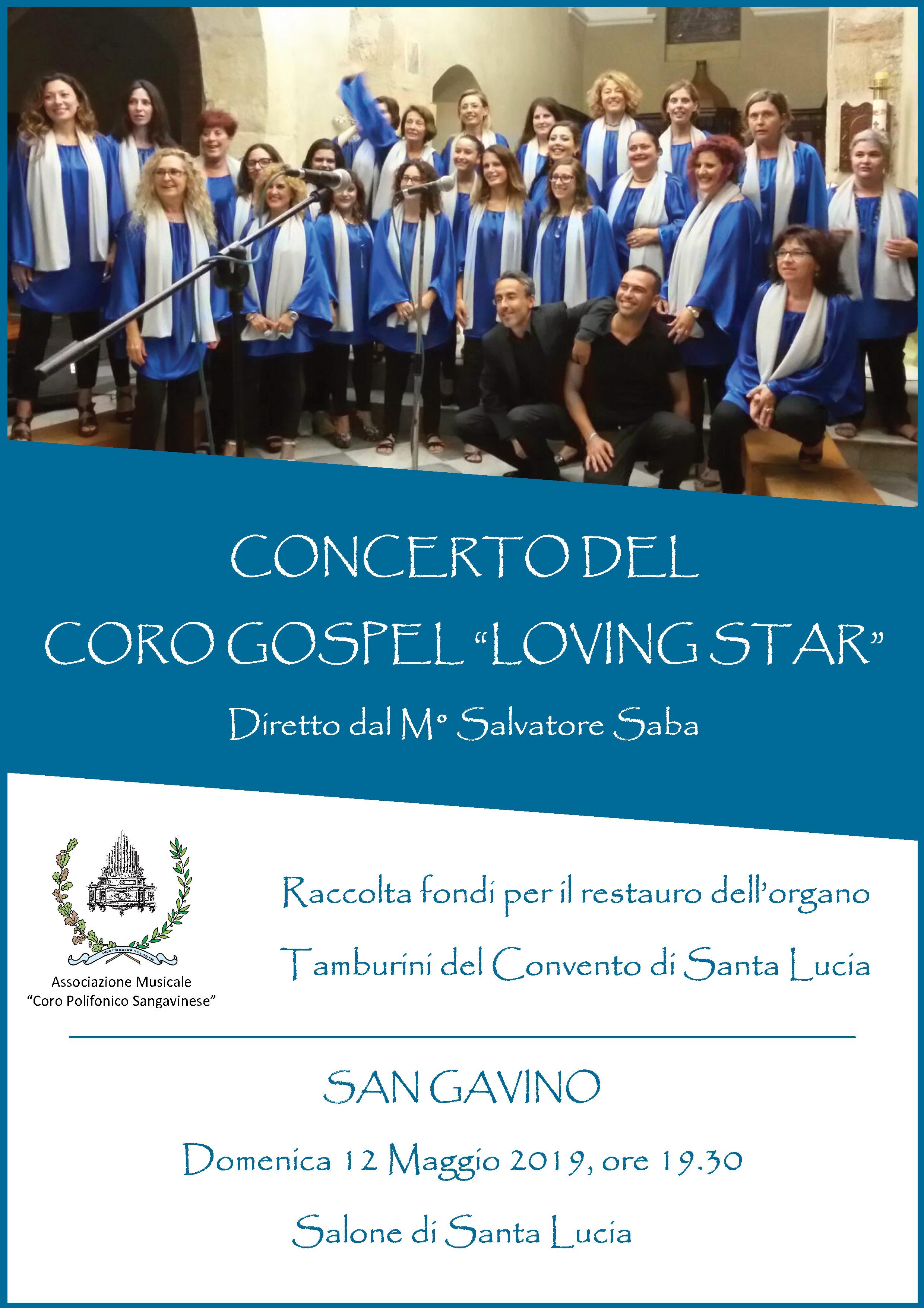 """Concerto del Coro Gospel """"Loving Star"""""""