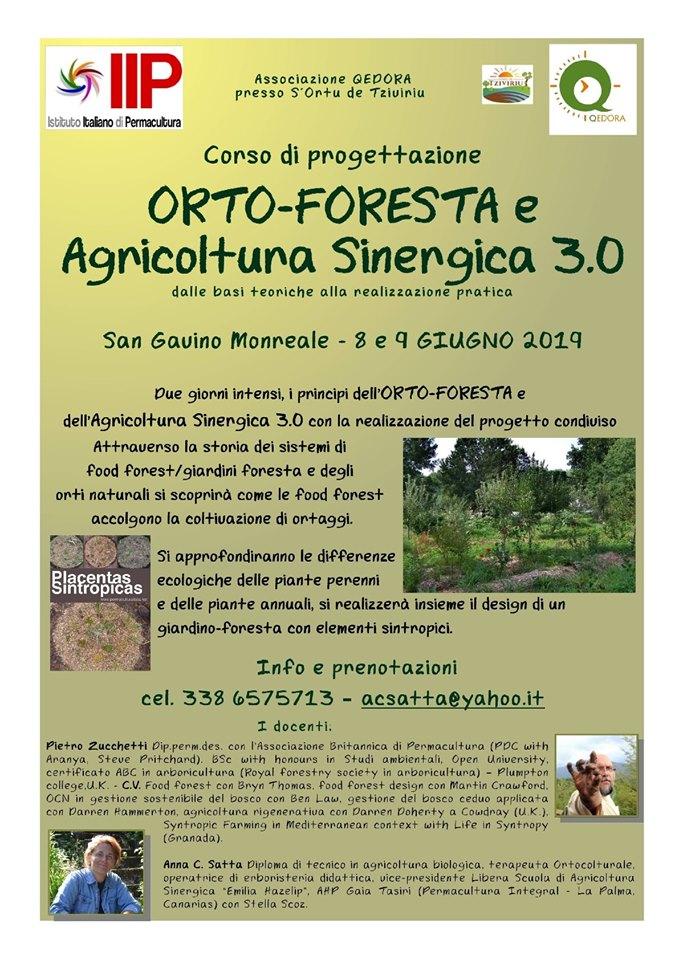 ORTO-FORESTA e Agricoltura Sinergica 3.0