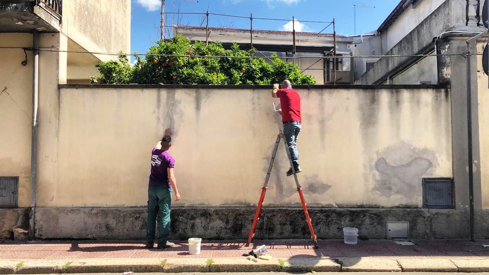 Sarà in viale Trieste il primo murale del 2019