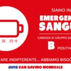 Emergenza sangue: appello dell'AVIS