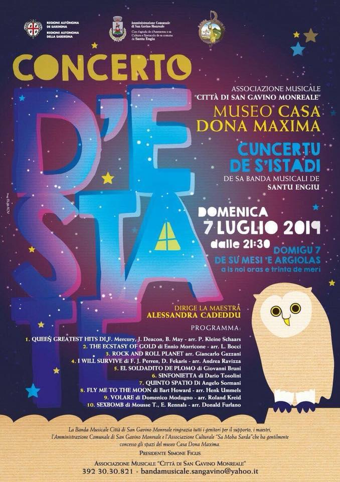 Concerto d'Estate 2019