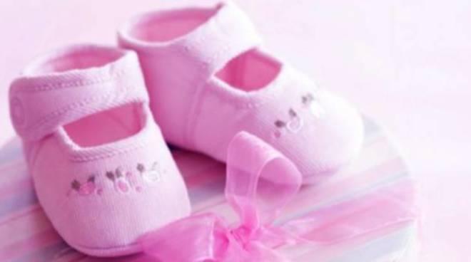 Fiocco rosa in casa Deiola: è nata Aurora