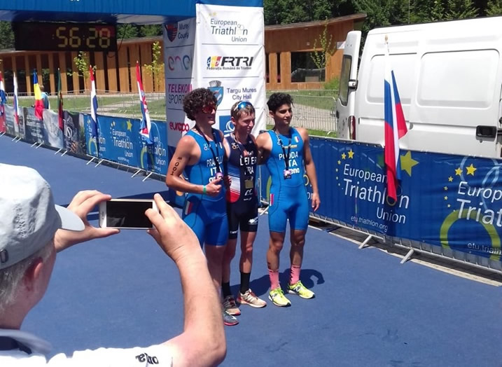 Francesco Podda, prima medaglia con la casacca Azzurra