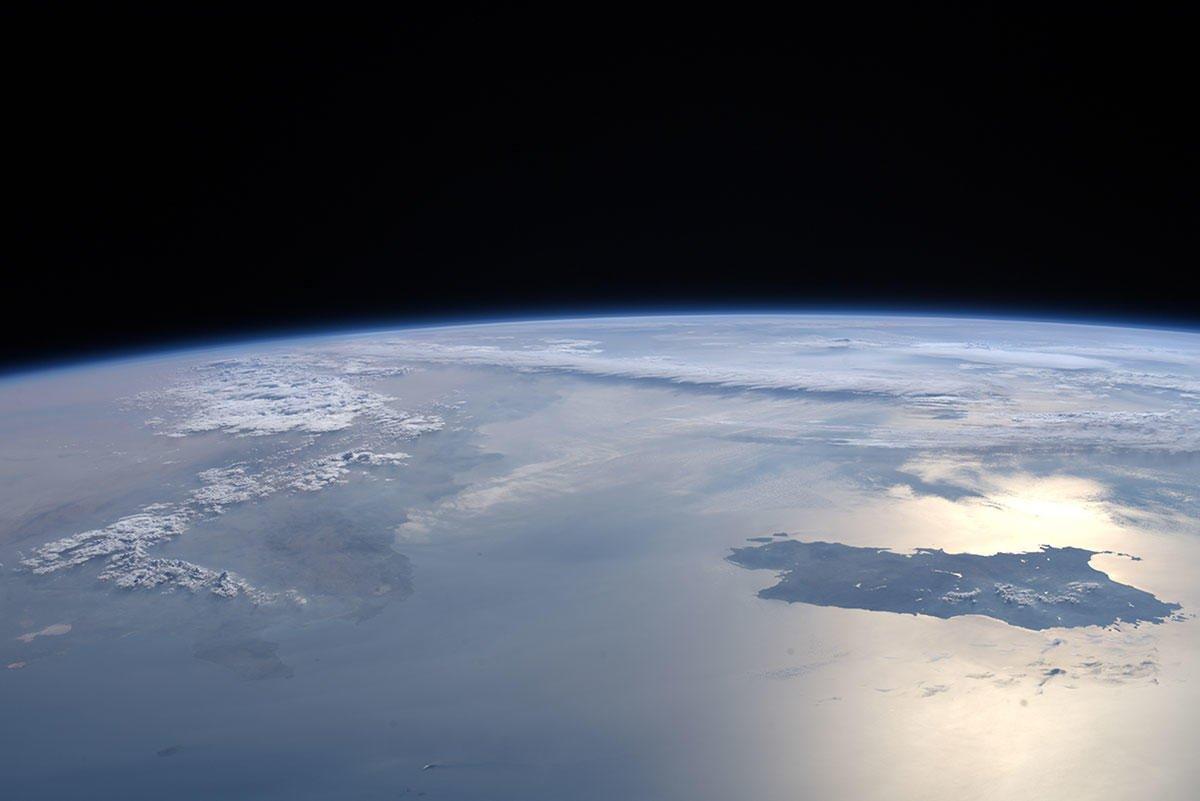 La Sardegna vista dallo Spazio, lo scatto di Luca Parmitano