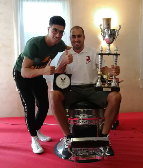 Fabrizio Pani 2° classificato tra i barbieri italiani