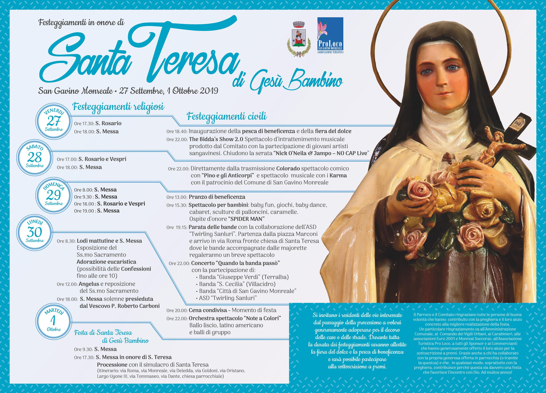 Festa di Santa Teresa 2019
