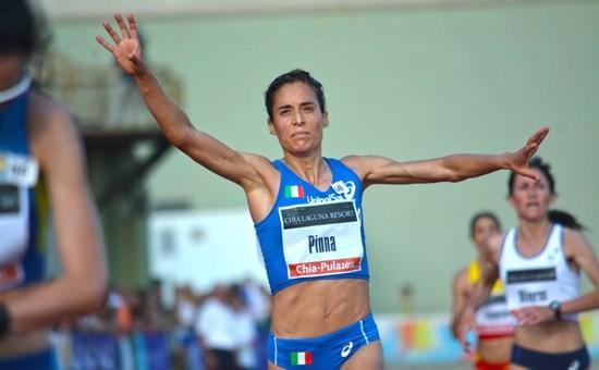 Pinna campionessa europea Master dei 5000 metri