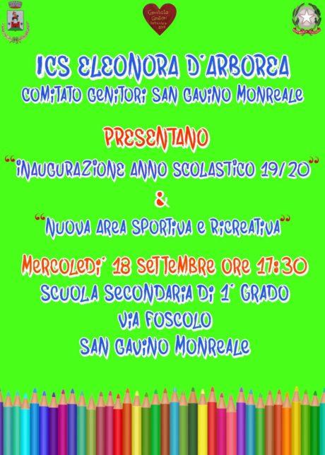 """Istituto Comprensivo """"Eleonora d'Arborea"""", si inaugura l'anno scolastico"""
