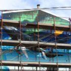 """San Gavino Monreale, stasera si inaugura il murale """"Greenland"""" di Giorgio Casu"""