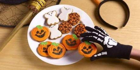 Biscotti di Halloween: la ricetta di Antonietta Dessì