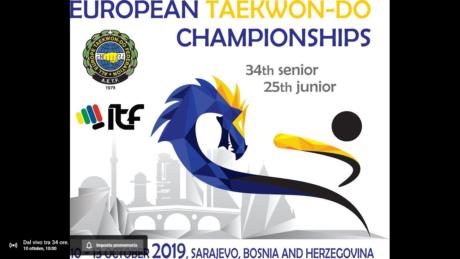Campionati Europei di Taekwondo, i match di Eleonora Cancedda in diretta streaming