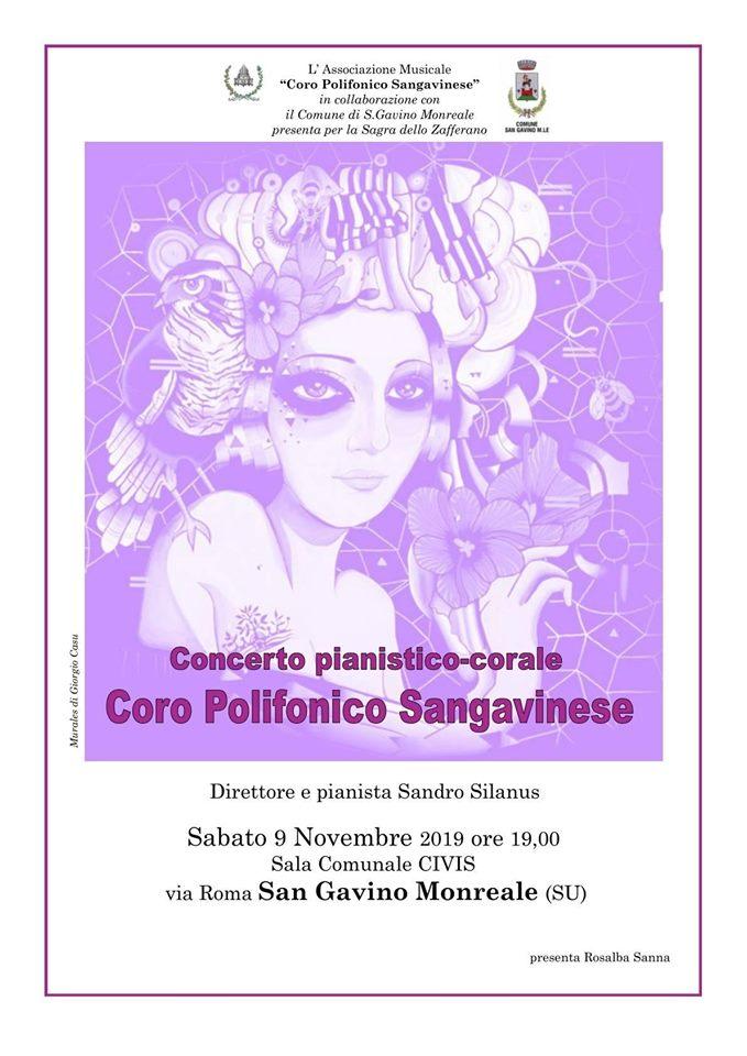 Concerto pianistico-corale del Coro Polifonico Sangavinese