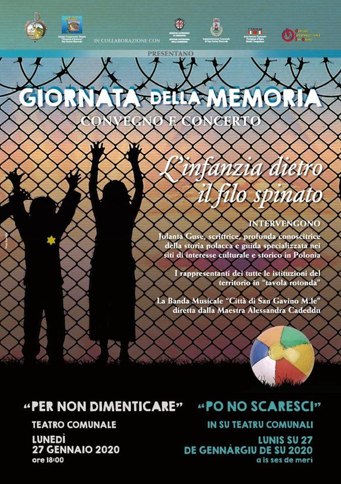 Giornata della Memoria - Convegno e Concerto
