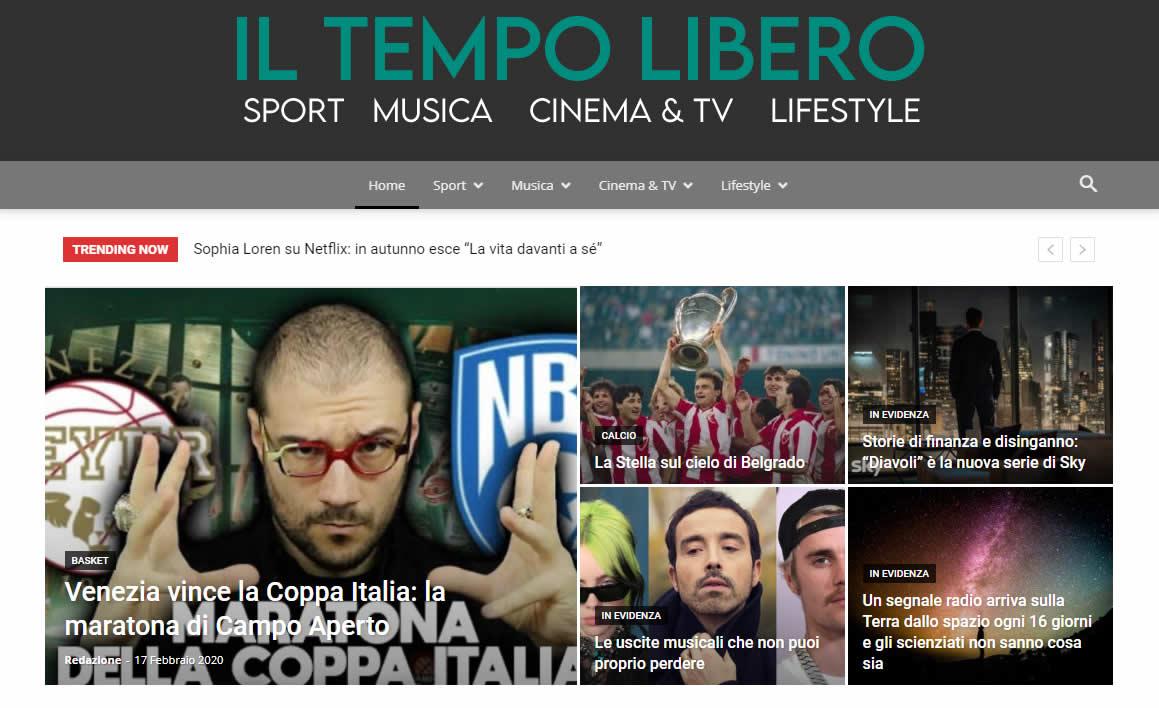 Il Tempo Libero - Homepage