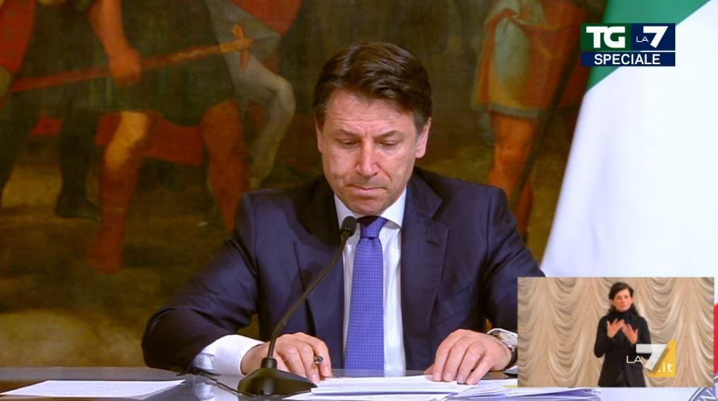 Giuseppe Conte - Diretta La7