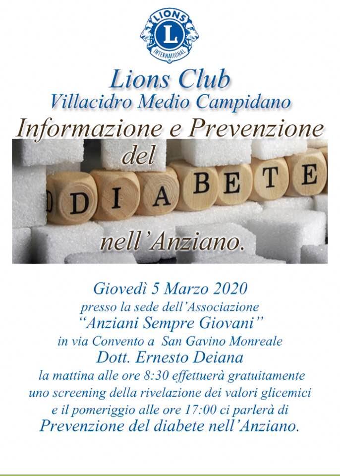 Diabete nell'Anziano