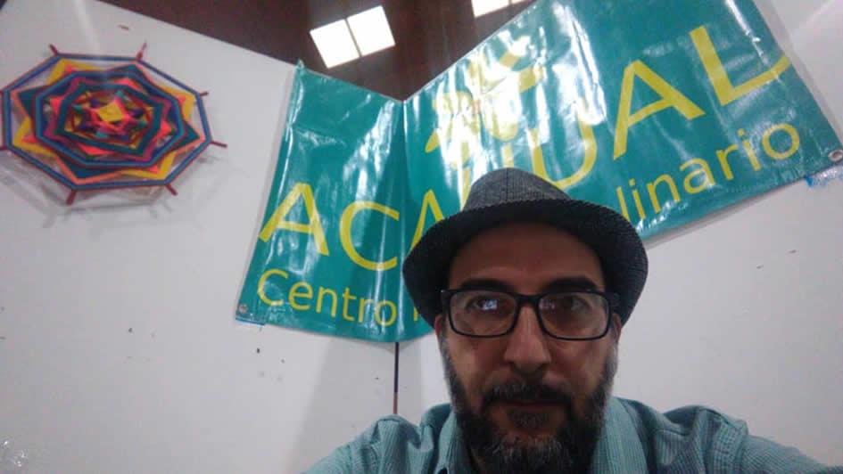 Il sangavinese Roberto Spano nel Centro Multidisciplinare Acahual