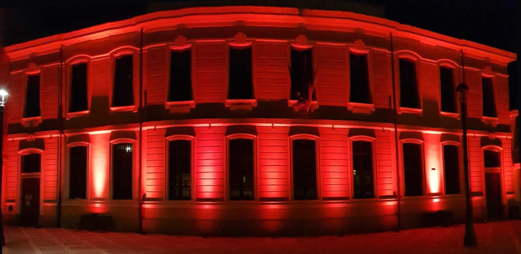 Municipio rosso