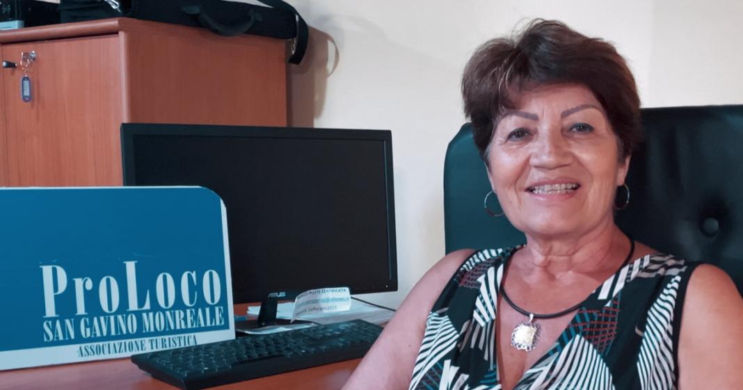 Antonella Caboni, Presidente della Pro Loco di San Gavino Monreale