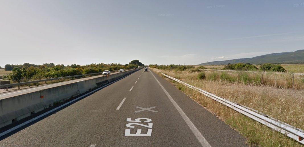 SS 131, immagine da Google Street View