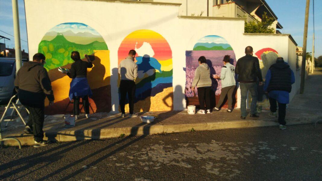 Murale Associazione Delfino