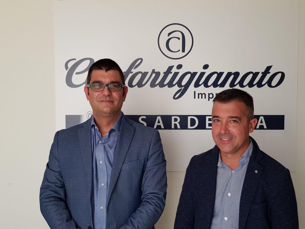 Confartigianato Imprese Sardegna: il Presidente Regionale Antonio Matzutzi e il Segretario Daniele Serra