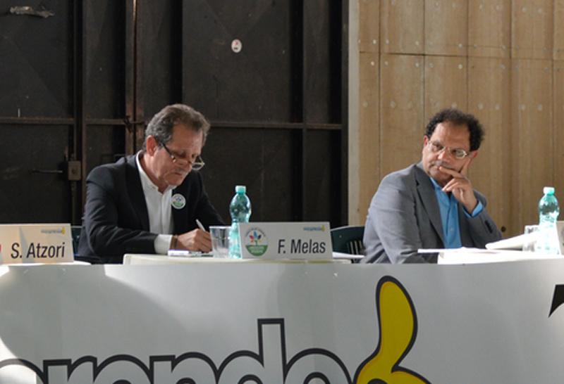 Fedele Melas e Carlo Tomasi