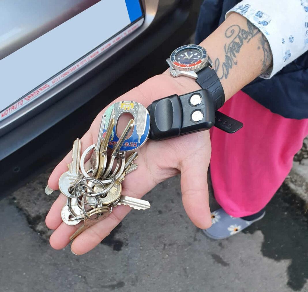 San Gavino Monreale, ritrovato mazzo di chiavi