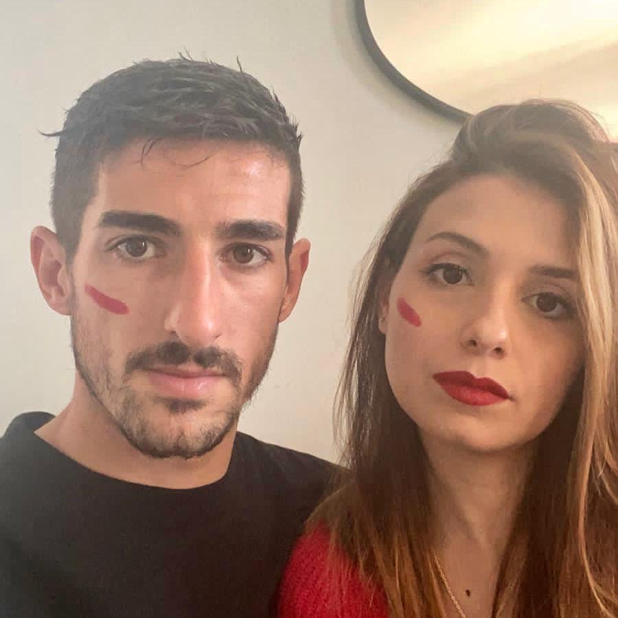 Alessandro Deiola e Debora Frau