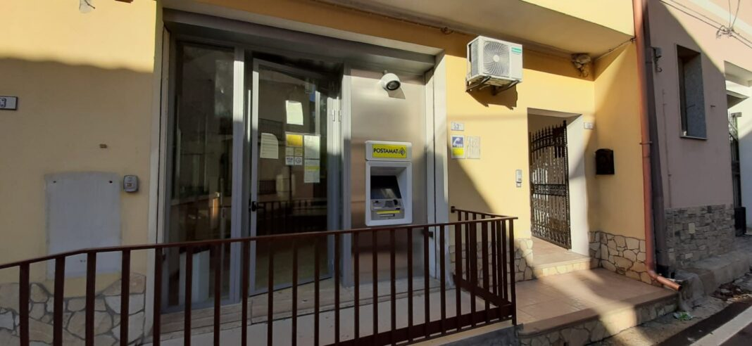 Gesturi, installato il primo ATM Postamat