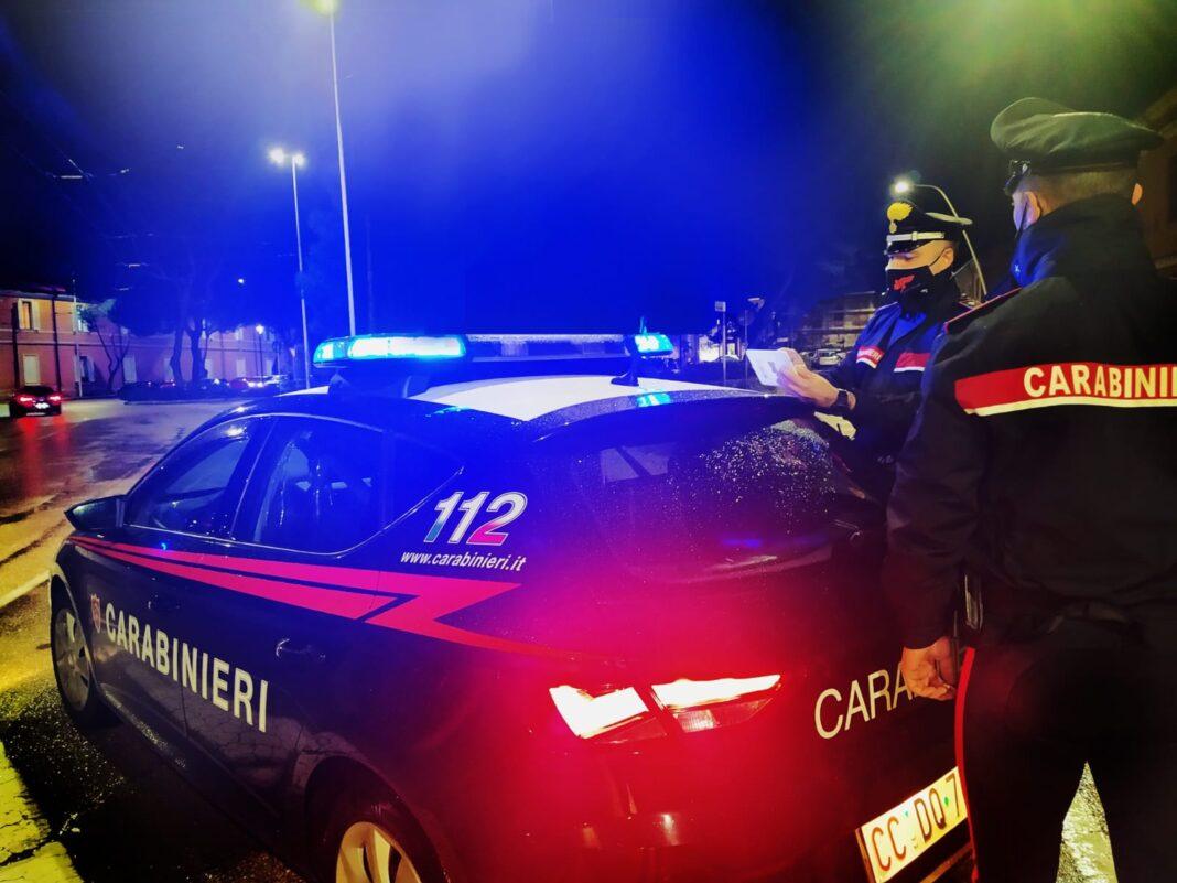 Villacidro e Arbus: due auto fuori strada, intervengono i Carabinieri