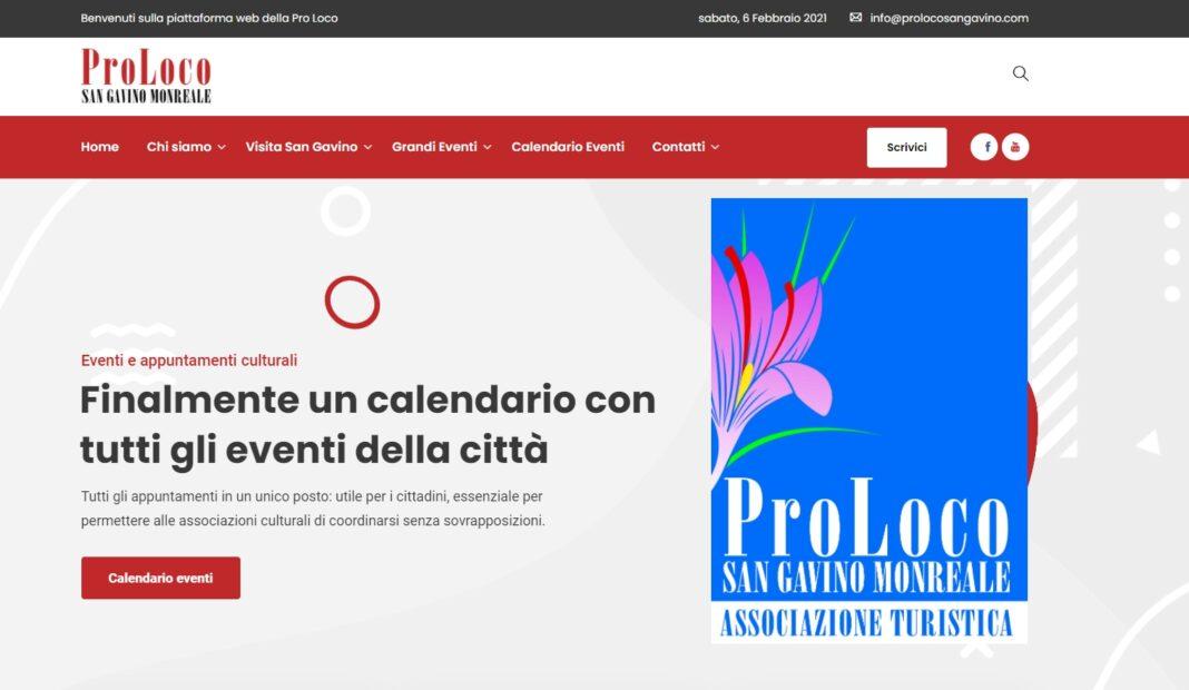 San Gavino, online la nuova piattaforma virtuale della Pro Loco