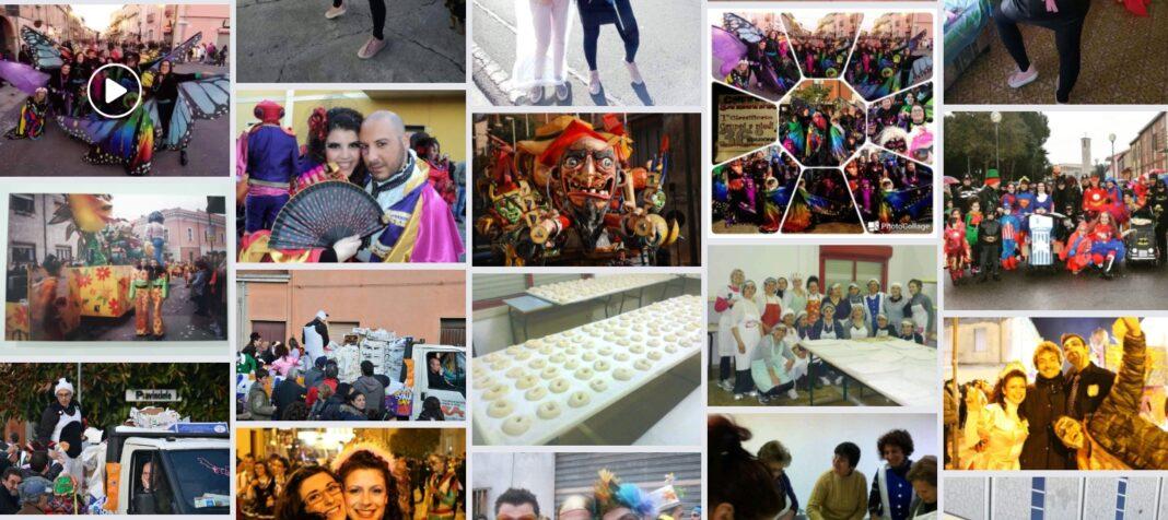 Carnevale Sangavinese, procede la raccolta di immagini di archivio