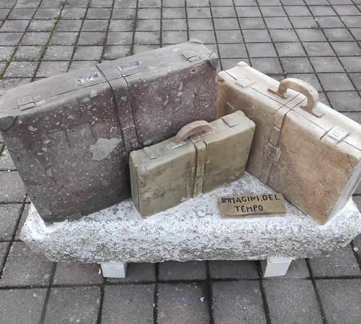 Stazione, vandalizzata la scultura di Giovanni Spanu
