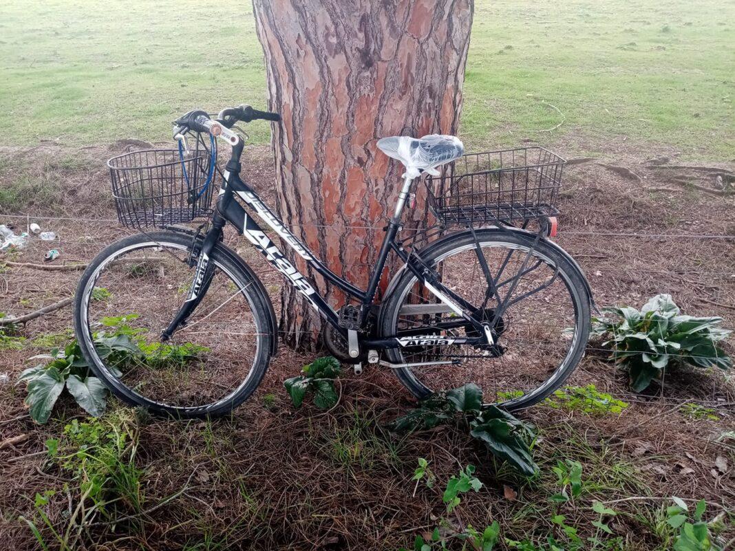 Bici abbandonata a San Gavino, troviamo il proprietario?