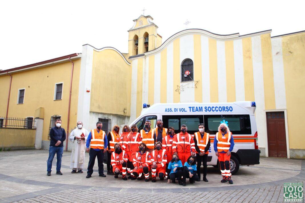 Team Soccorso, le foto della benedizione della nuova associazione