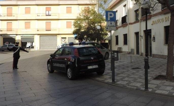 Carabinieri a San Gavino