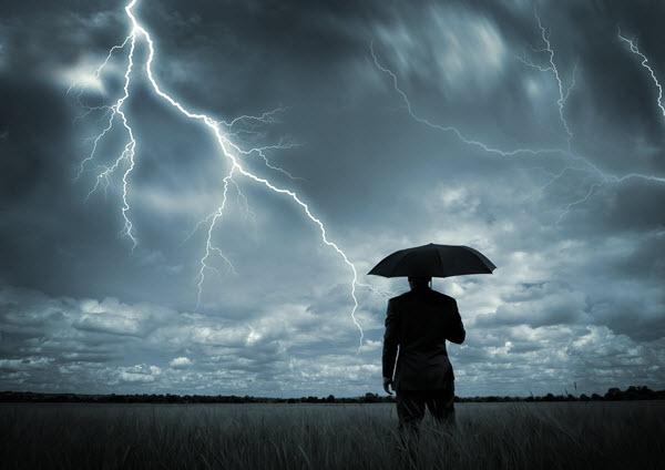 rischio idrogeologico per temporali