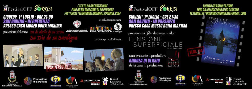 FestivalOff: a San Gavino il 1° luglio serata di eventi, aspettando il Festival Letterario