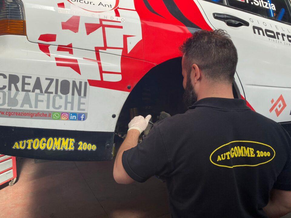 3° Rally del Parco Geominerario, le auto da rally scaldano i motori