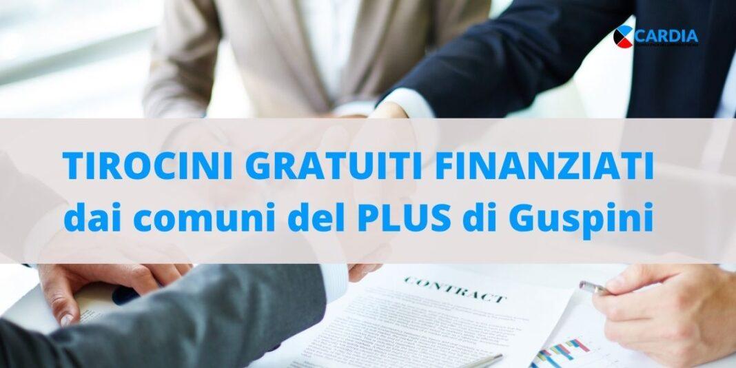 Tirocini Finanziati: dal PLUS di Guspini occasioni di crescita e lavoro per aziende e lavoratori!