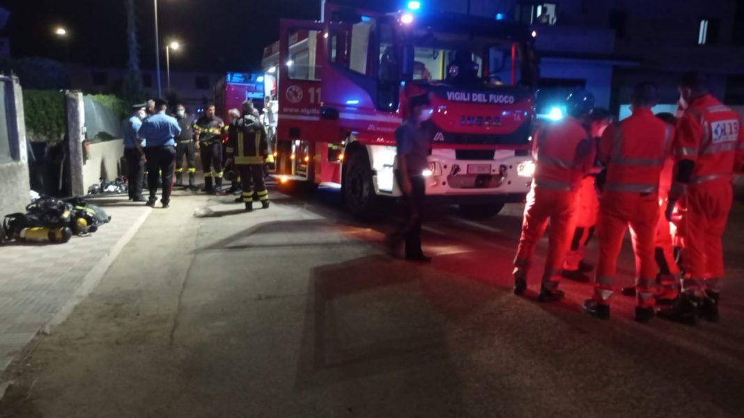 Pabillonis, incendio in un appartamento: muore un uomo di 53 anni