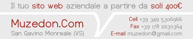 Siti web - San Gavino Monreale