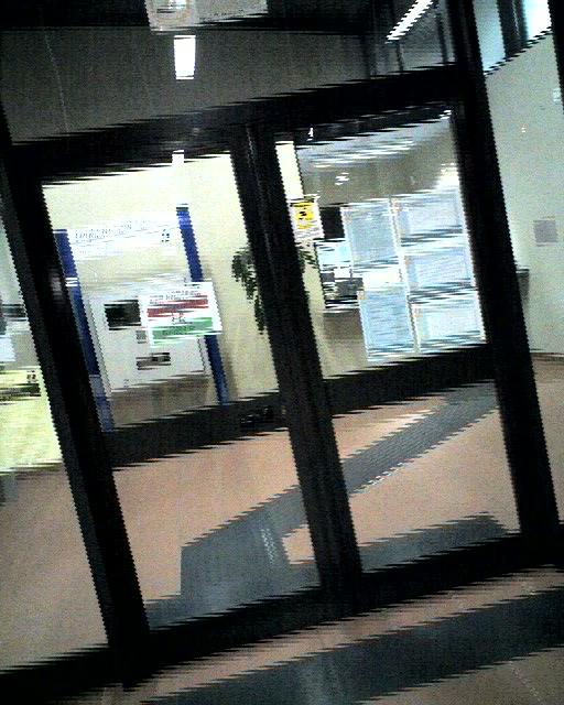 La porta della biglietteria