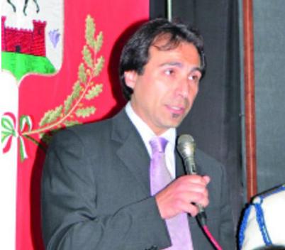 Il candidato della lista Democratici del Centrosinistra San Gavino Monreale